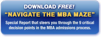 Download our report that will help you navigate the MBA Maze