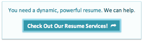 You need a dynamic, powerful resume. We can help.