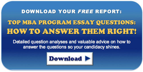 mba admissions essay review