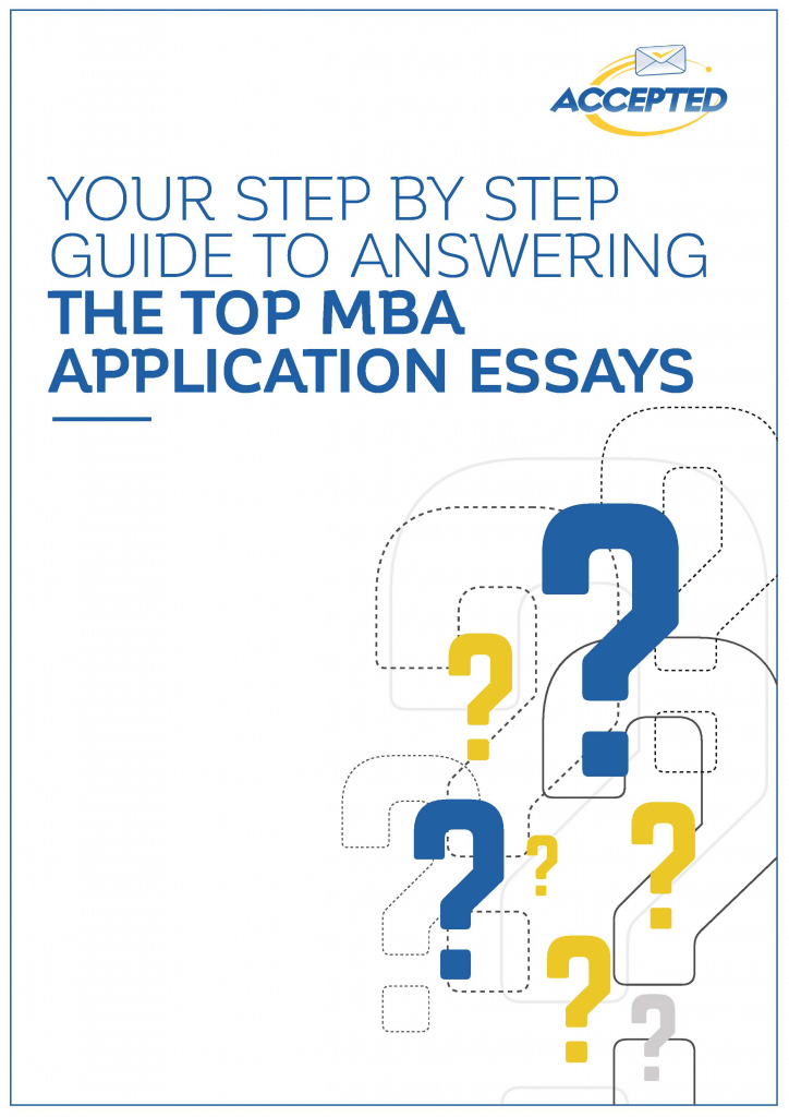 mba essays Not sure where to start with your mba application essays our expert mba essay  tips will help you craft an essay that will get any adcom's.