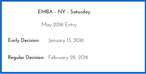 Columbia 2016 Executive MBA Essay Tips & Deadlines