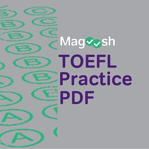 Check out the TOEFL Practice PDF!