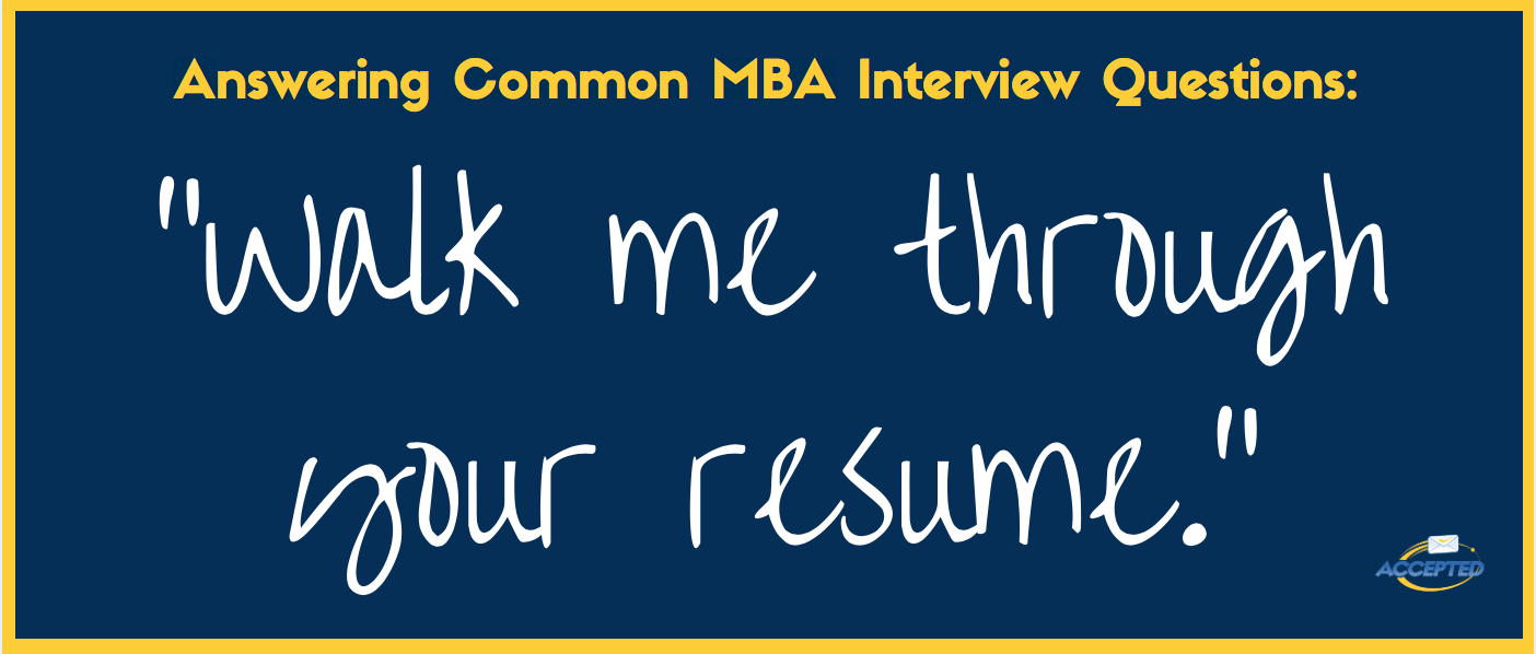 Download Your Free Copy Of  And Walk Me Through Your Resume