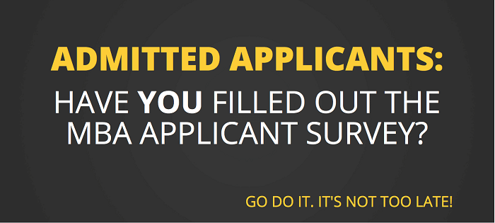 Accepted Applicants: Got 2 Minutes? Help Us Out & Help Fellow Applicants