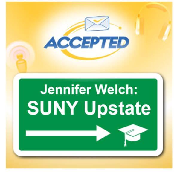 Jennifer Welch, SUNY Upstate