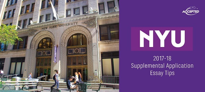 Tips for Answering the NYU Supplemental Essay Prompts