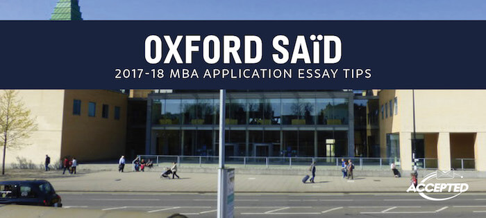 oxford said 2009 essays Following up on the release of the oxford mba essays for 2015-2016 that said, because oxford does not pose an optional essay question.