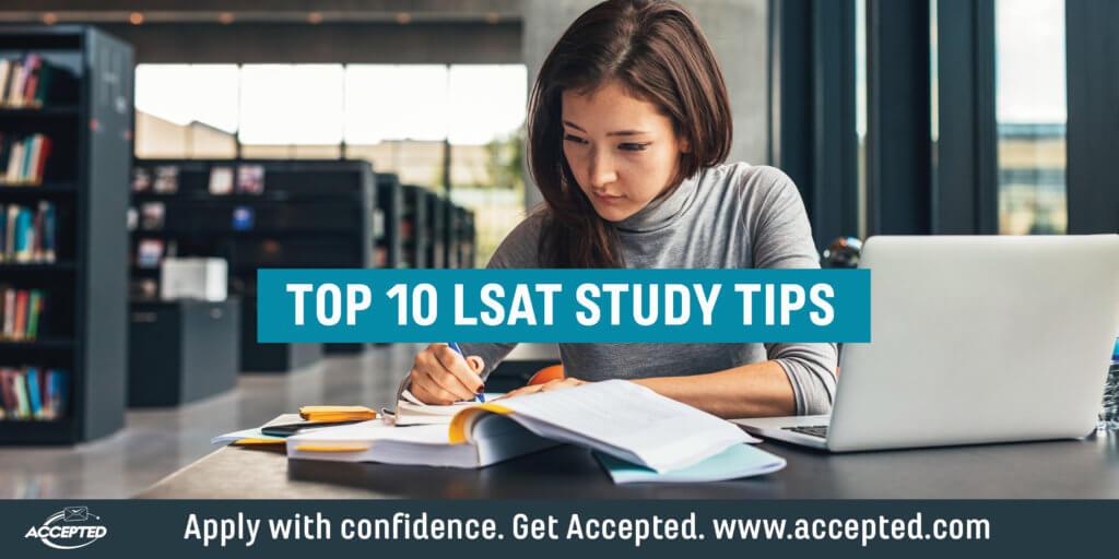 top 10 lsat study tips