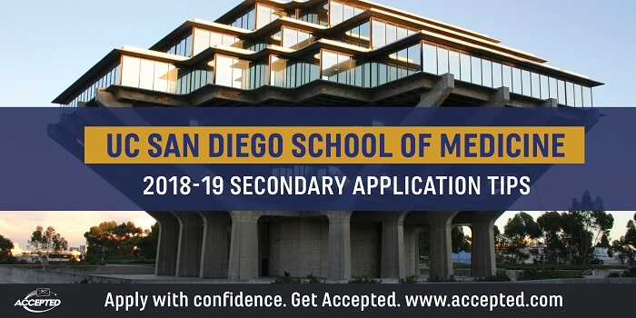 UCSD Medical School Secondary Application Tips | Accepted