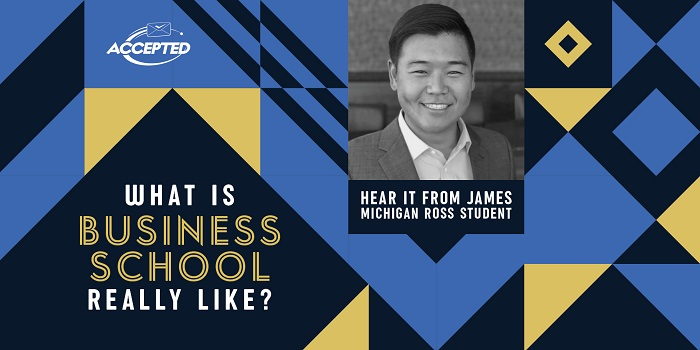 What is business school really like? Hear it from James,
