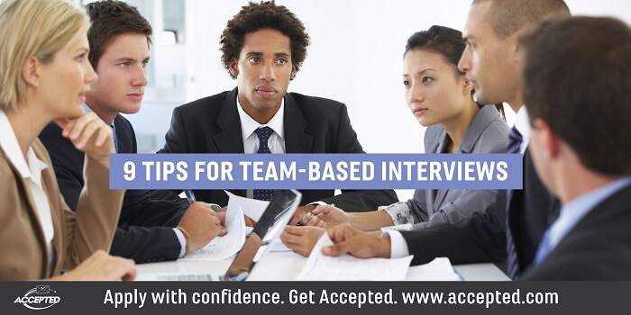 9 tips for team-based interviews