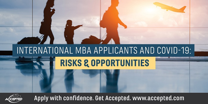 International MBA Applicants and COVID 19