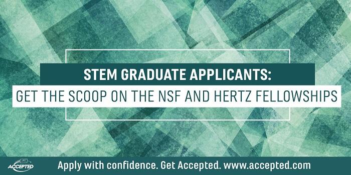 STEM Graduate Appliants Get the Schoop on the NSF and Hertz Fellowships